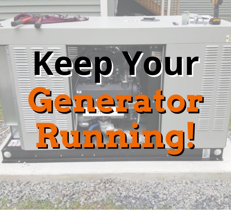 Keep Your Generator Running! 1